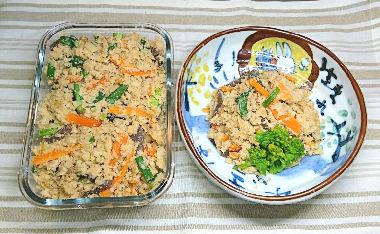 【卯の花の炒り煮】日本の代表する栄養食「大豆のおから」ダイエット食