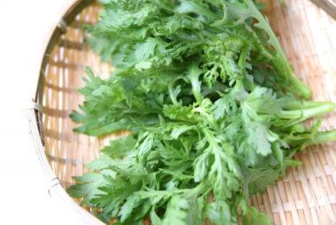 【春菊】香り成分は胃腸の働きを促進!油で栄養効果アップ!薬膳の丁寧な暮らし