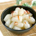 らっきょう1日1回ガン予防!食物繊維摂取量がグ~ンとアップ!簡単レシピ!