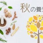 秋の養生法|注意すべき生活と食養生~食べたい食材と秋の薬膳とは