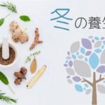 冬の養生法|注意すべき生活と食養生~食べたい食材と冬の薬膳とは